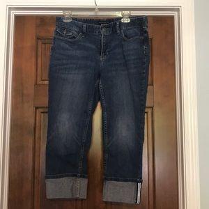 Banana Republic, Capri Jeans, Size 30/10